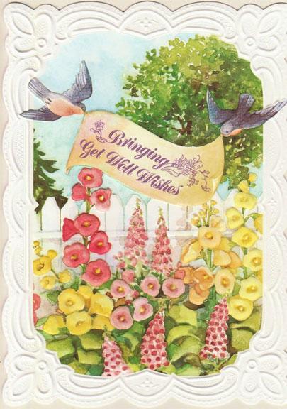 Japanese Kimono Birthday Card By Carol S Rose Garden At