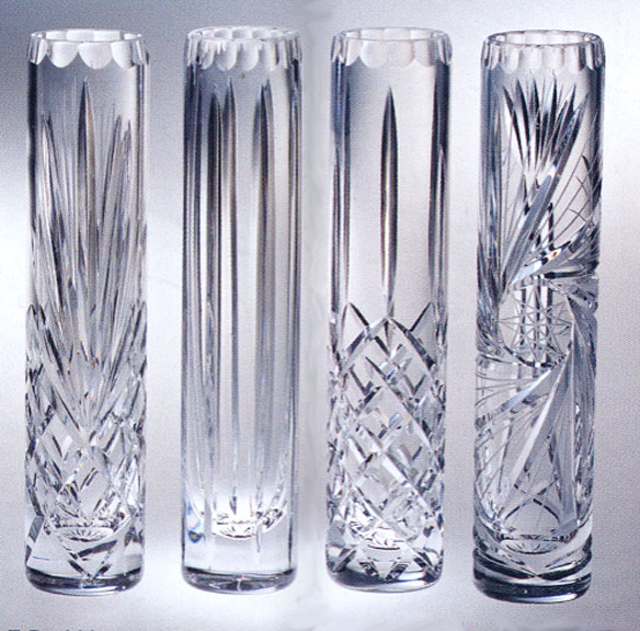 Exquisite Lead Crystal Single Bud Vases For Wedding Gifts Or